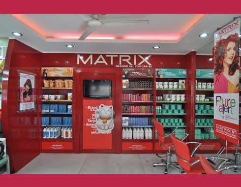 Branding Cluster Indoor Advertising Matrix
