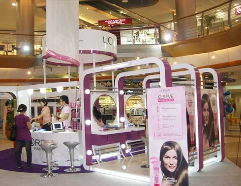 Standing Product & Stand Booth